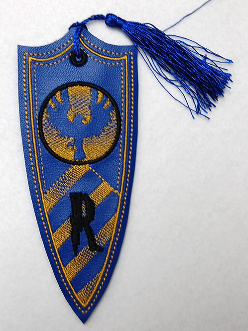Wizard Raven House Banner embroidered bookmark (matte)