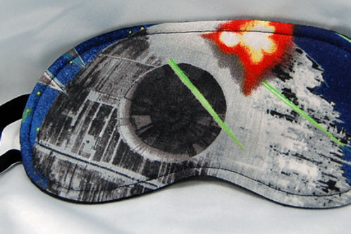 Sleep Mask made with licensed Star Wars cotton fabric