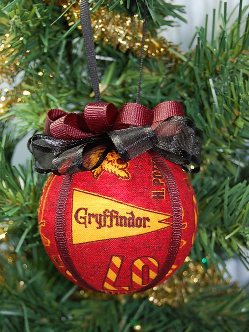 """Wizard Student Lion House ornament - 3"""""""
