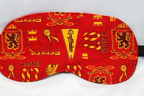 Wizard Student Lion House licensed cotton fabric sleep mask