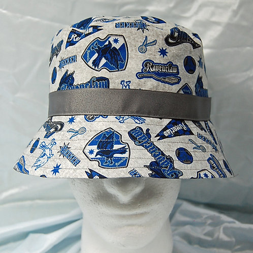 Wizard Raven House bucket hat - made from Licensed cotton print fabric
