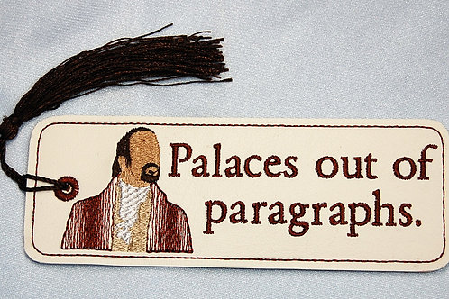 Palaces out of Paragraphs bookmark