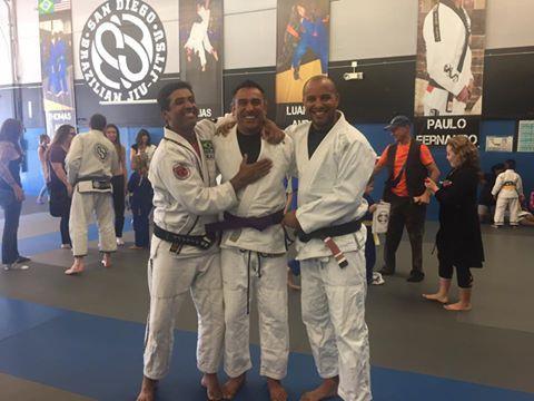 Ashkan's purple belt promotion