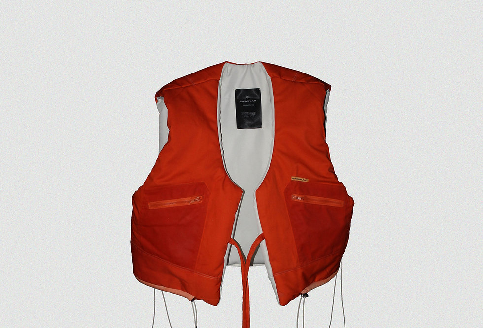 RECONSTRUCTED MILITARY FLIGHT SUIT GILET (1 OF 1)