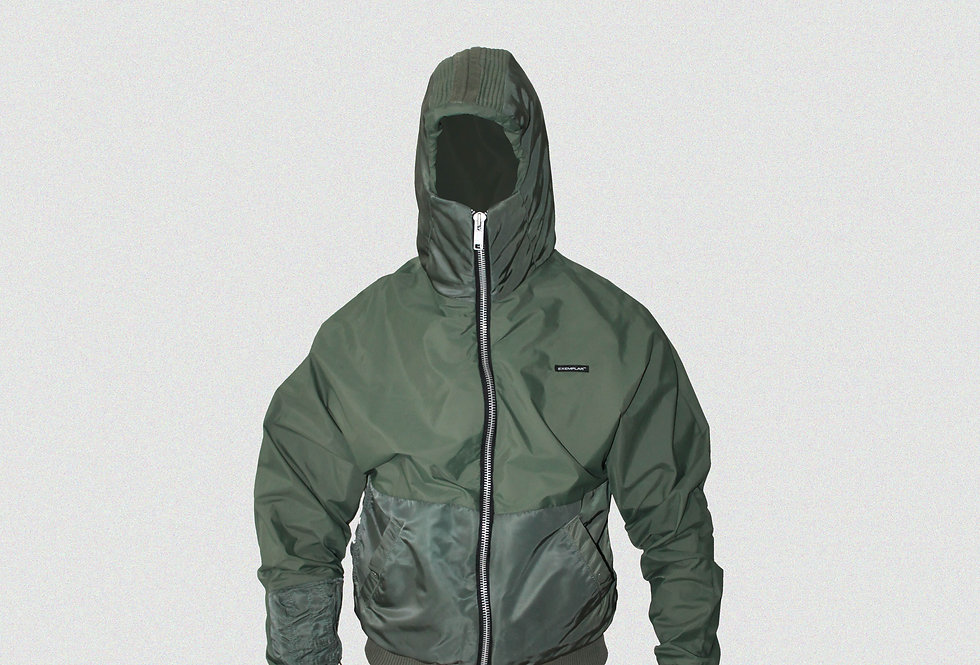 RECONSTRUCTED MILITARY FLIGHT MASKED WINDBREAKER (1 OF 1)