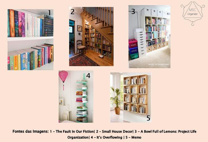 Livros e mais livros! Como organizá-los?