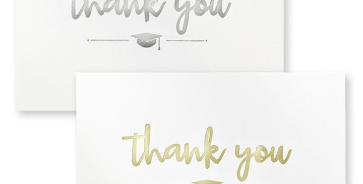 FOIL THANK YOU NOTES