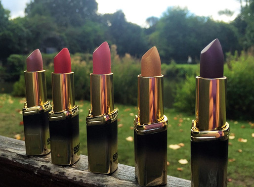 Lipstick Tuesday… L'Oreal Gold Obsession