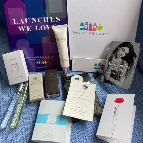 The Perfume Society - Launches We Love Discovery Box