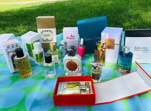 My Summer Scent choices