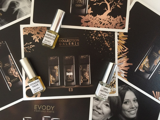 Evody parfums... Collection Galerie