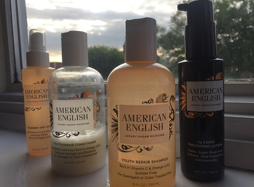 American English Hair Care - A Match Made in Heaven