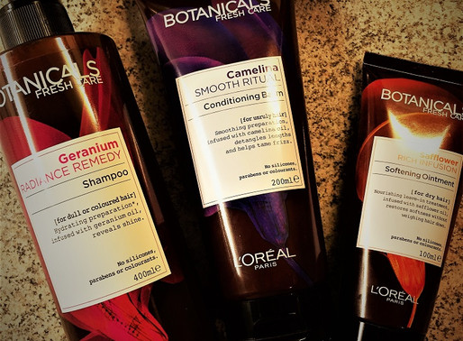 L'Oreal Botanicals Freshcare hair care – an olfactory experience for your head