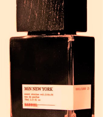 Perfume of the week… Scent Stories… MiN New York Collection Chapter 6 - BARREL