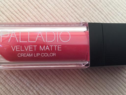 Lipstick Tuesday… Palladio Velvet Matte lip Color…