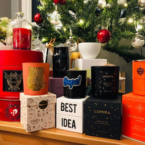 Beautiful candles for festive nights