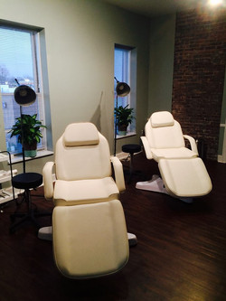 Skin therapy beds, massage, hair,