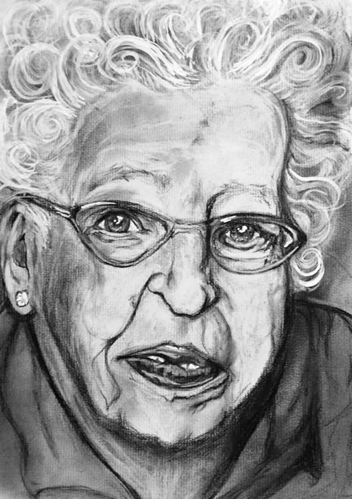 KC Artist, Art, Charcoal, Drawing