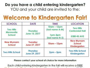 Kindergarten Fair 2017!