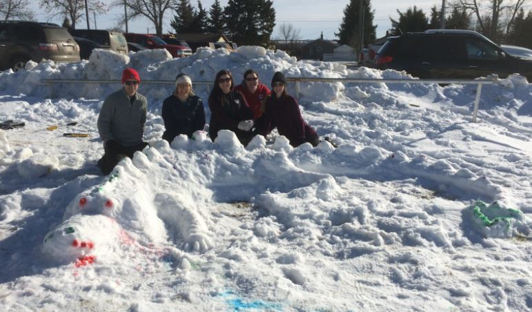 Mukluk - Snow Sculptures