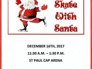 Santa on Skates?!!