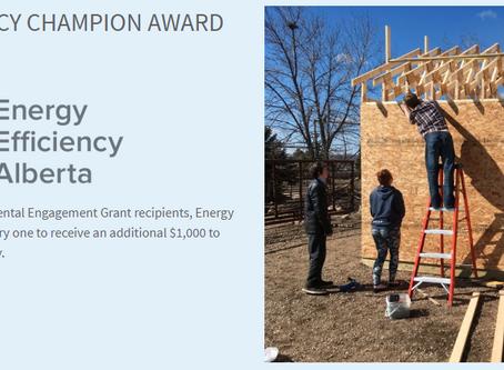 Energy Efficiency Champion Award