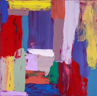 Acrylic on Canvas, 60x60 cm, 2019