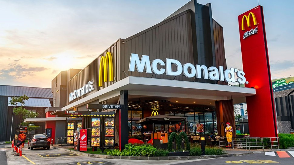 McDonald's Rendering of a Drive-Thru Restaurant