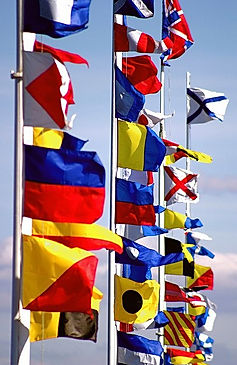 nautical flags convey information