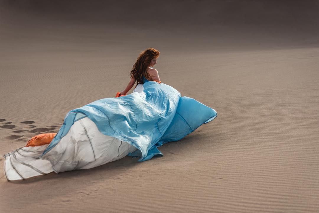 Parachute Gown