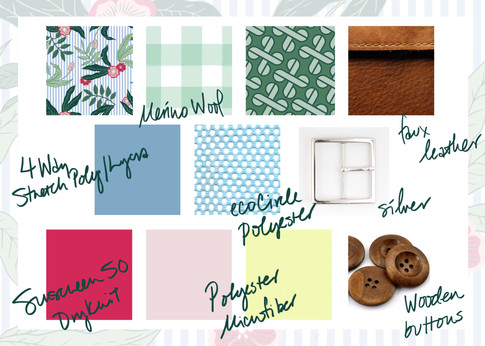 Alinea : Materials