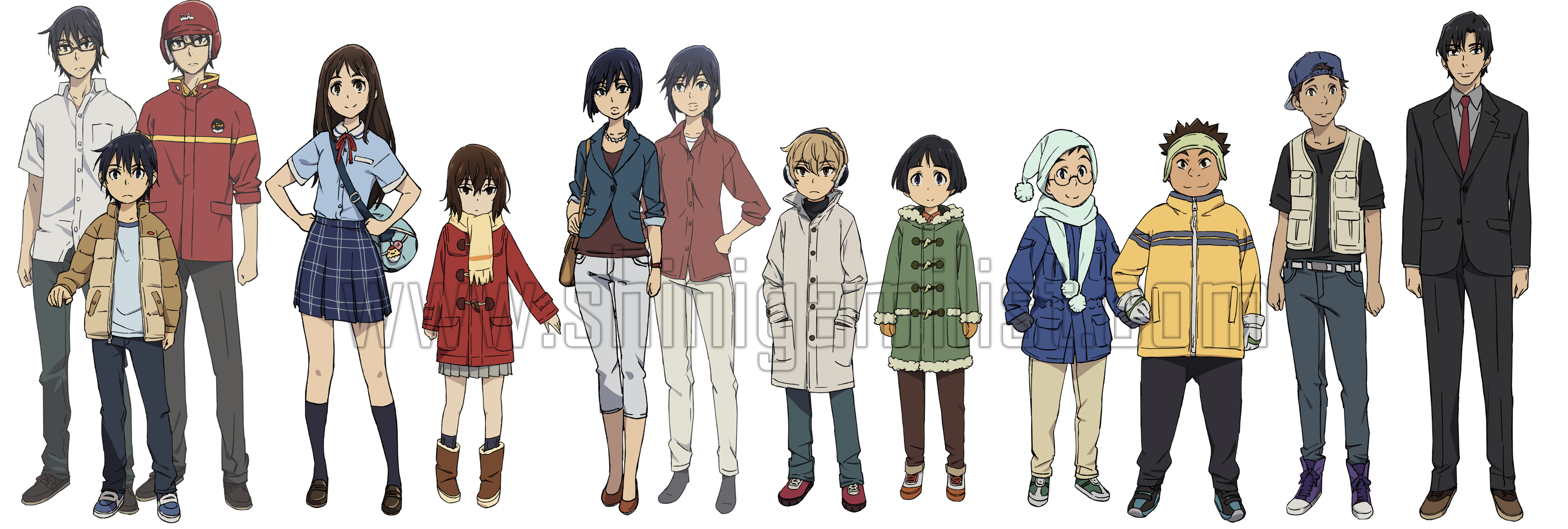 Images Of Erased Anime Characters Hiromi