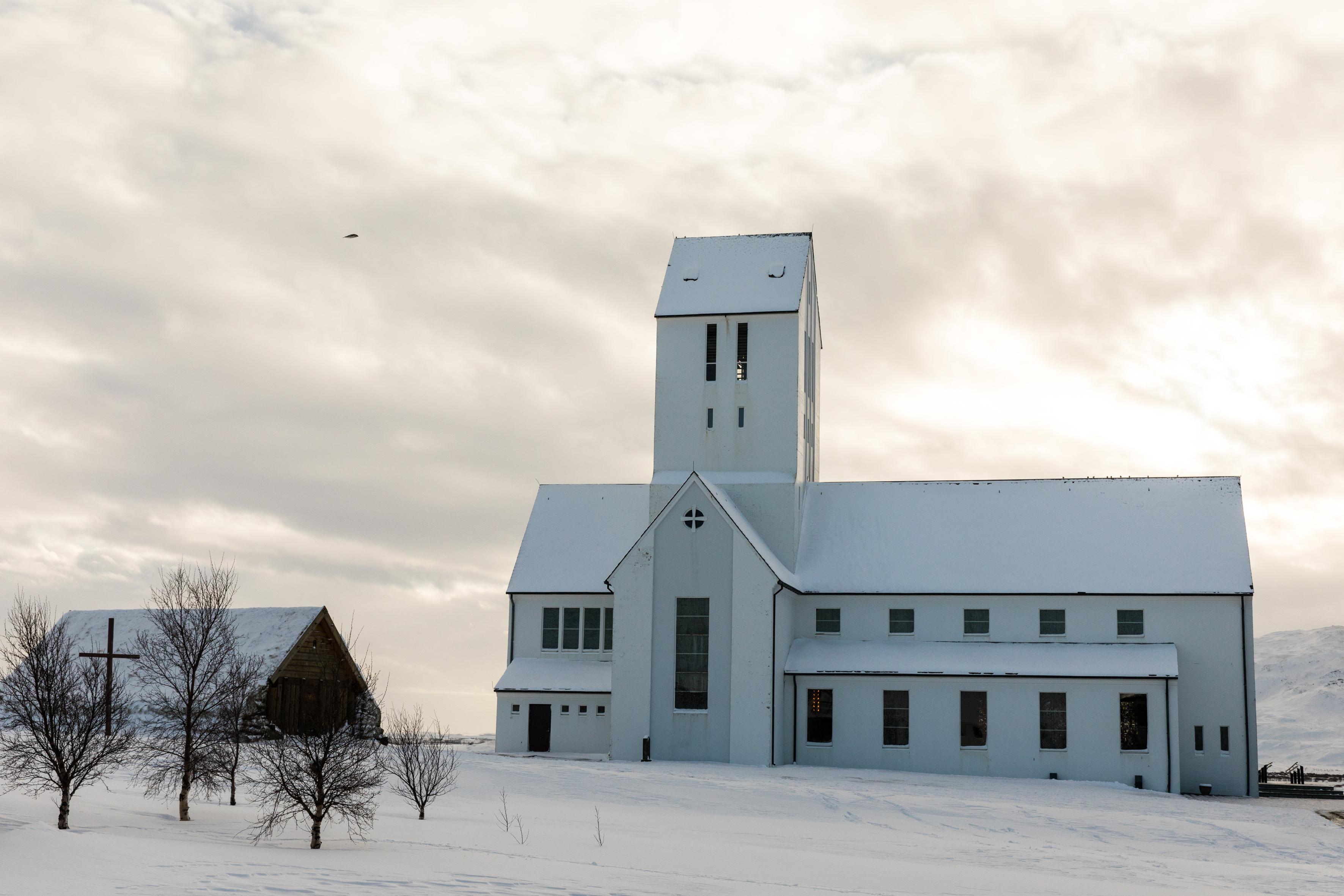 Skálholts kirkja & Þorláksbúð