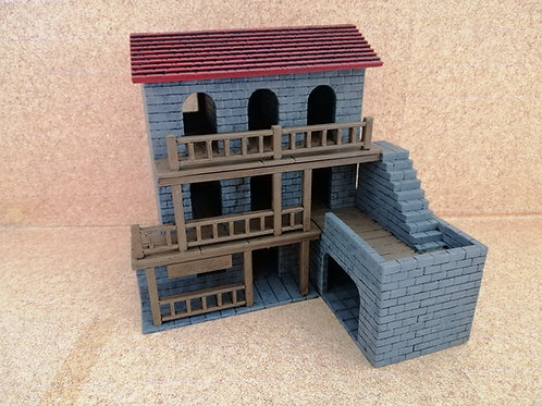 The Inn - painted - PLA