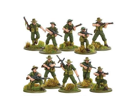 AustralianJungle Division infantry secti