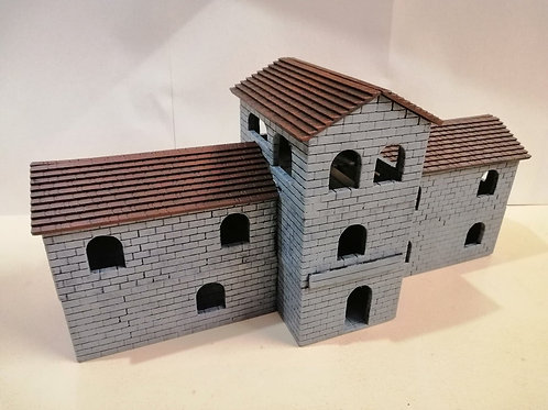 Barracks - painted - PLA