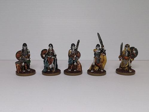 Prepainted Skeleton Warrior set