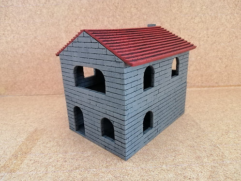 Row House - painted - PLA