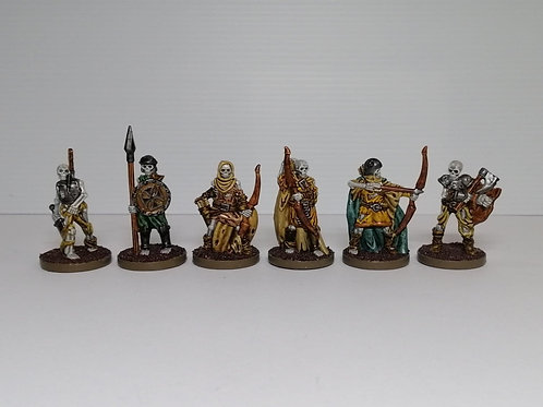 Prepainted Skeleton Warriors and Archers