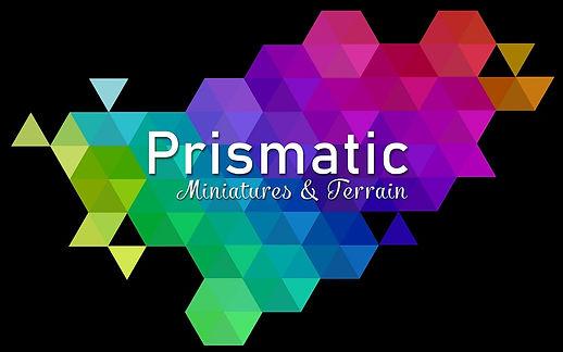 prismatic miniatures and terrain logo.50