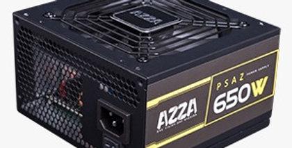 POWER SUPPLY AZZA 650W GAMING 80 + BRONZE