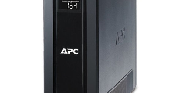 UPS APC PRO 1500VA / 865W 120V 10 OUTPUTS 5 BACKUP 5 SUPPRESSORS BLACK