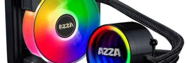 DISIPADOR DE CALOR AZZA LIQUIDO 120MM ARGB SOCKETINTEL LGA1200/115X/775 AMD AMX
