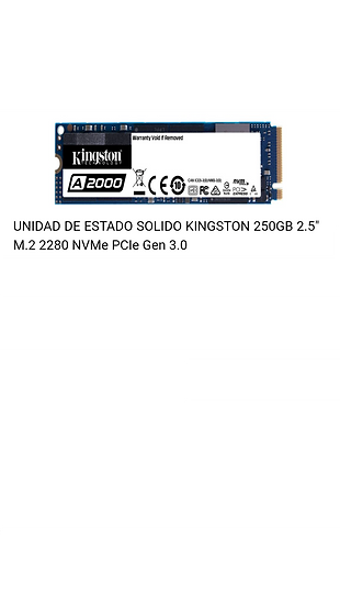 Disco Duro SSD - M.2 - 240GB