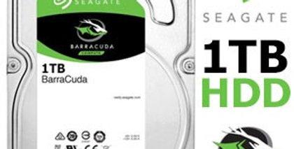 Seagate 1TB 7200 RPM 3.5 'SATA Hard Drive for Desktop PC