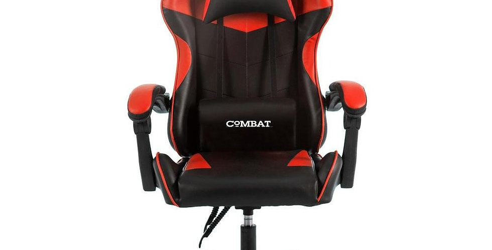 Gaming Chair Black with Red - Combat