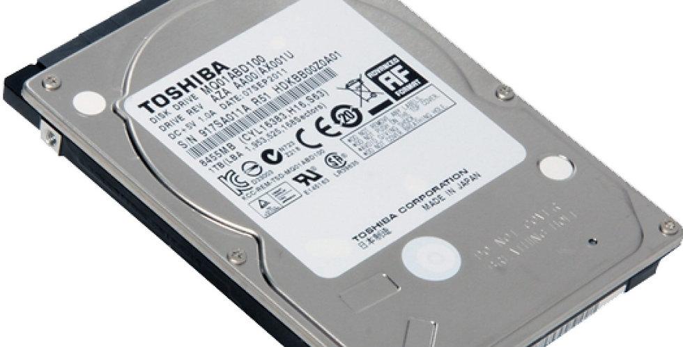 Toshiba 1TB Laptop Mechanical Hard Drive
