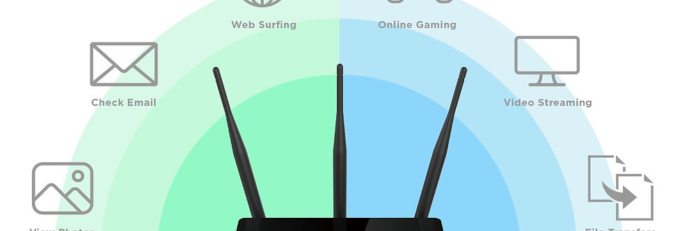 ROUTER INALAMBRICO D-LINK AC750 DUAL BAND 2.4/5GHZ 300MBPS