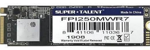 DISCO ESTADO SOLIDO SUPER TALENT 256GB M.2 PCIE NVME