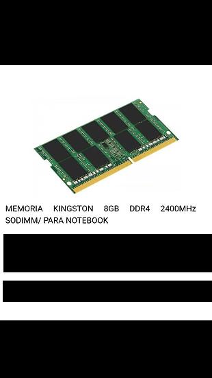 Memoria Ram 8GB DDR4 - Portatil
